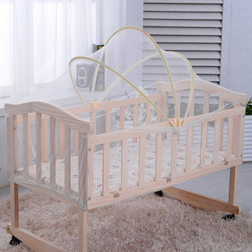Universal Baby Cradle Bed Mosquito Nets Summer Baby Safe Arched Mosquito Net UK