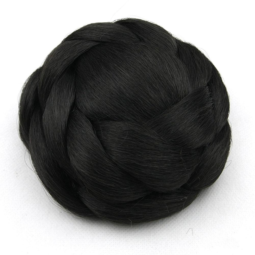 Clip-Breathable-Women-Wig-Braiding-Comfortable-Wear-Hair-Bun-Natural-Synthetic thumbnail 10