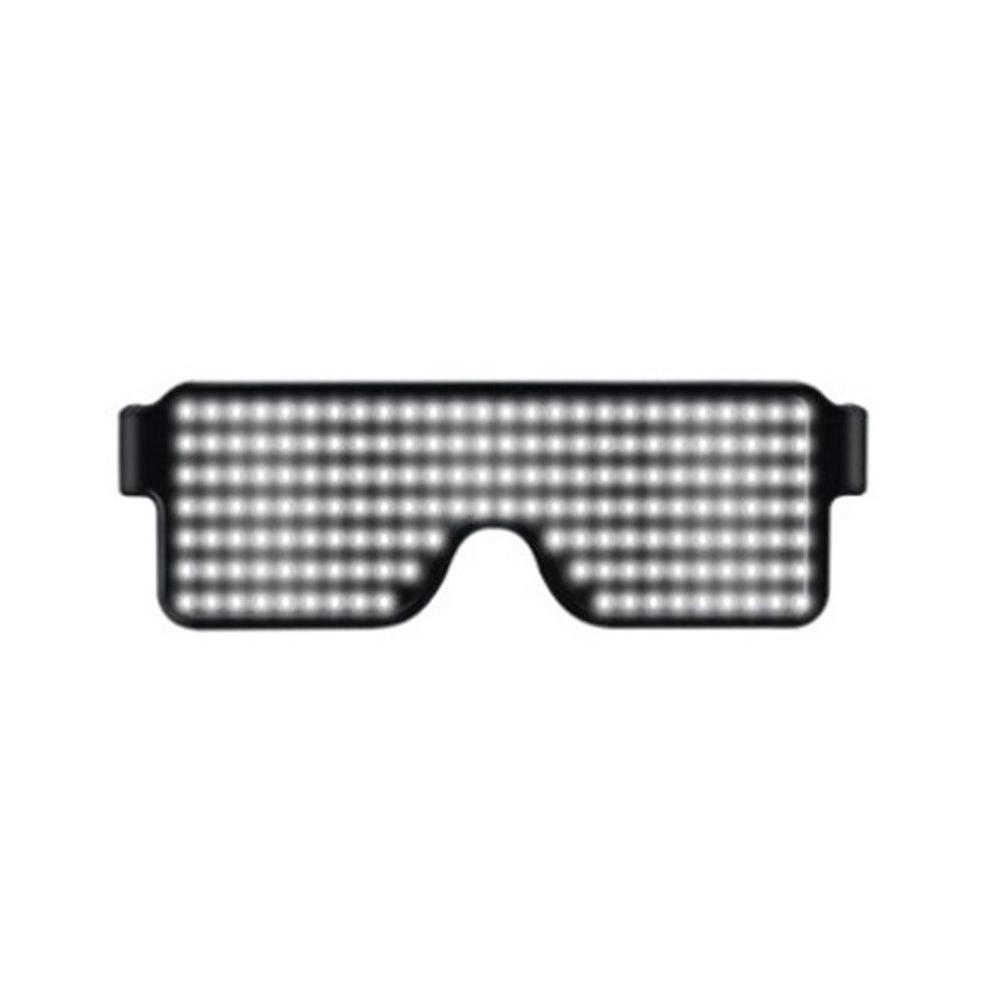 Glasses-Multi-Purpose-Nightclub-Led-Eyewear-Display-Screen-Glow-Party-Flashing thumbnail 7