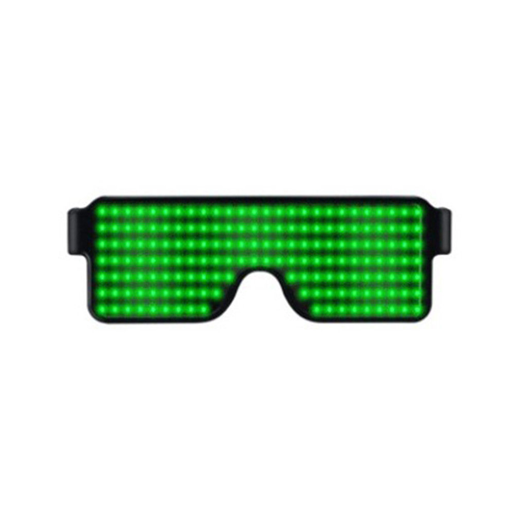 Glasses-Multi-Purpose-Nightclub-Led-Eyewear-Display-Screen-Glow-Party-Flashing thumbnail 12
