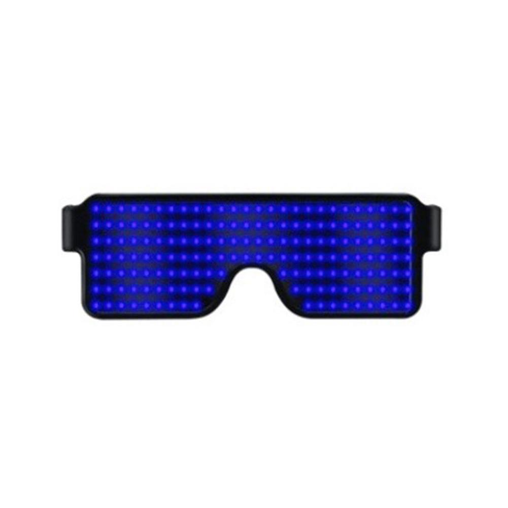 Glasses-Multi-Purpose-Nightclub-Led-Eyewear-Display-Screen-Glow-Party-Flashing thumbnail 2