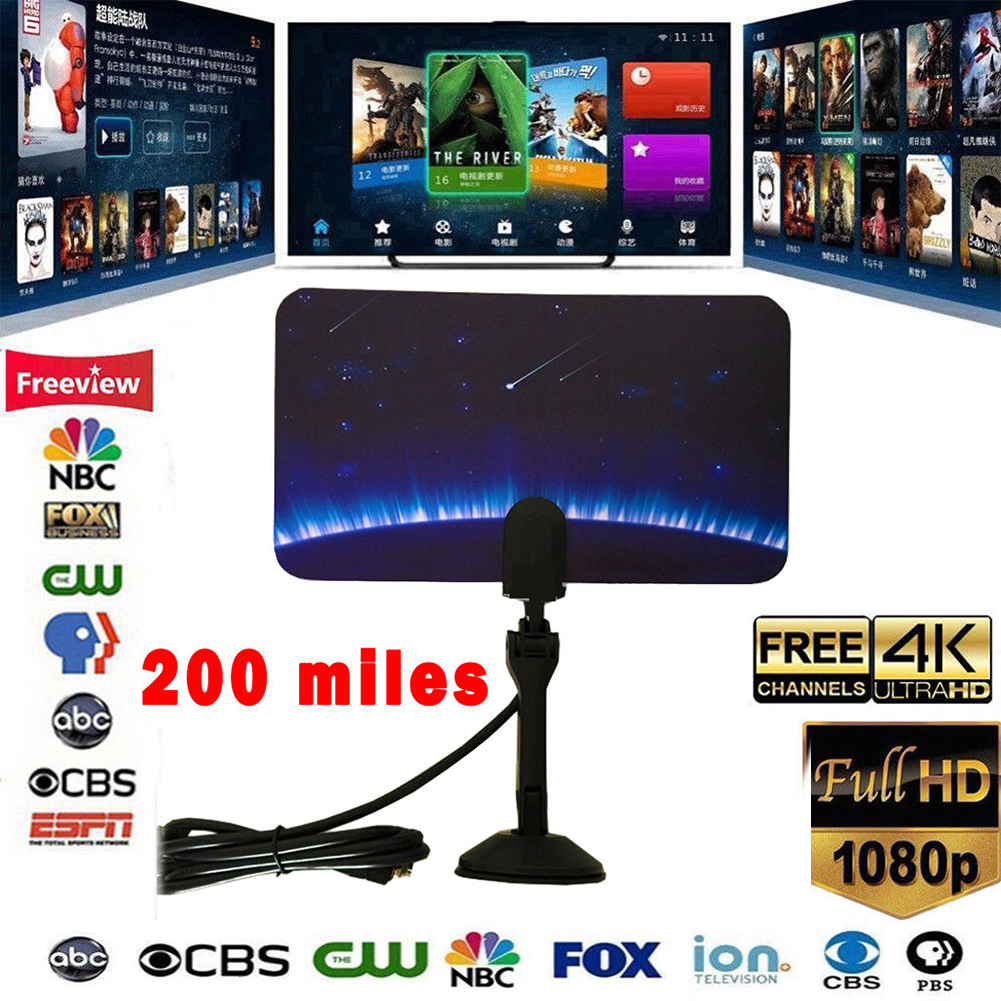 TV-Accessories-Possible-Reception-Digital-HD-Indoor-Antenna-For-1080P-HDTV