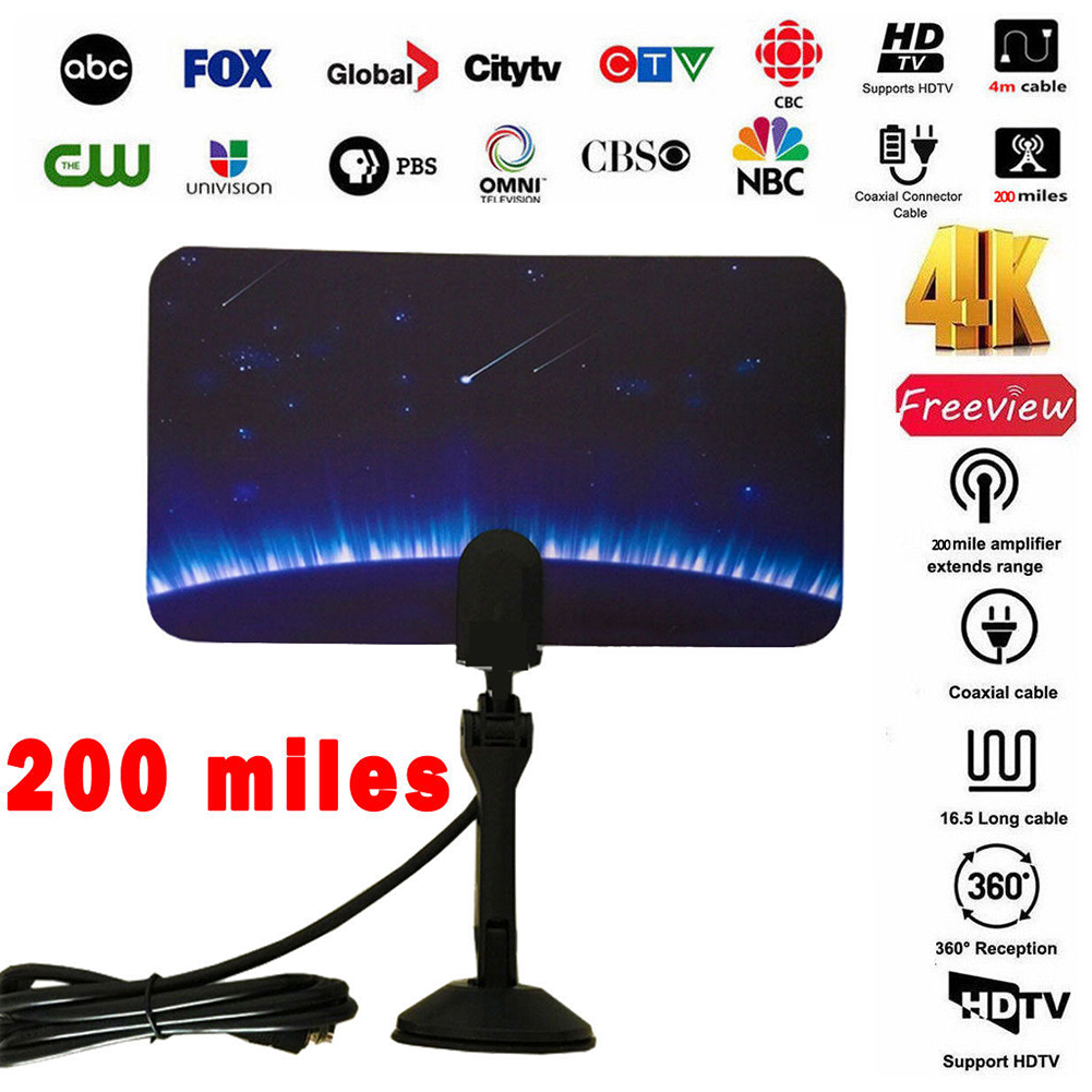 TV-Accessories-Possible-Reception-Digital-HD-Indoor-Antenna-For-1080P-HDTV thumbnail 2
