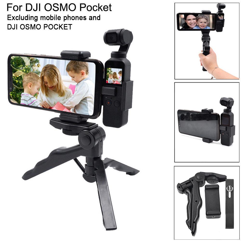 Mount Selfie Tool Stick Fixing Bracket Tripod Phone Holder For DJI Osmo Pocket - $15.87