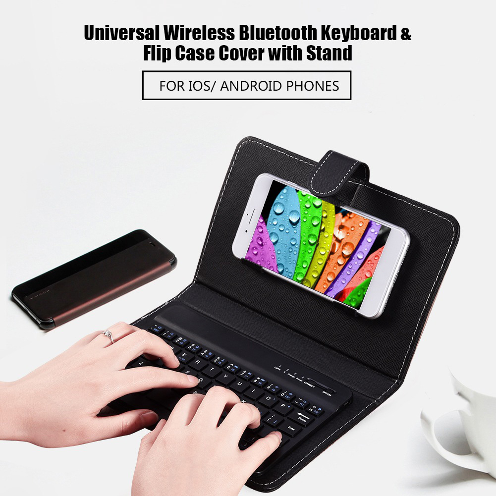 Mobile-Keyboard-Cover-Universal-For-Smartphone-Bluetooth-For-Android-IOS-Windows