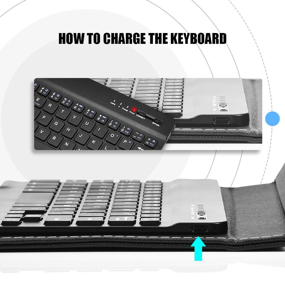 Mobile-Keyboard-Cover-Universal-For-Smartphone-Bluetooth-For-Android-IOS-Windows thumbnail 2