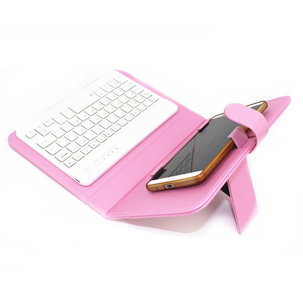 Mobile-Keyboard-Cover-Universal-For-Smartphone-Bluetooth-For-Android-IOS-Windows thumbnail 5