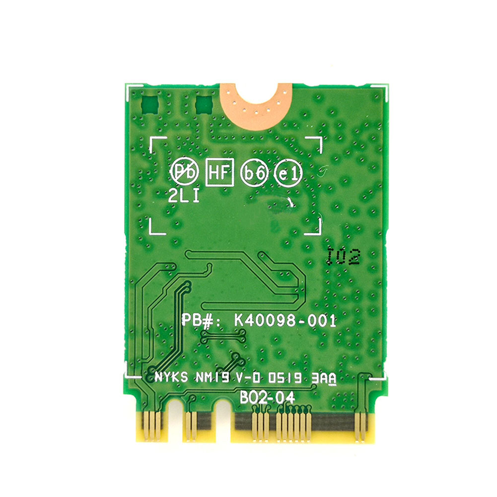 Dual-Band-Wireless-For-Intel-AX200-NGFF-Wifi-Bluetooth-5-0-Card-AX200NGW thumbnail 4