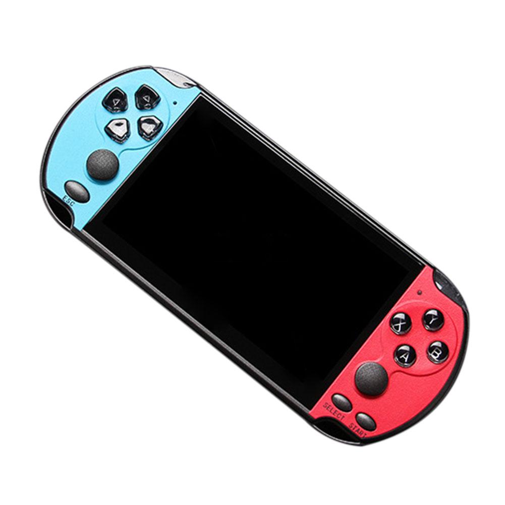 "8Bit-128 Bit 5"" X7 Plus Double Rocker Handheld Game Console Built-in 10000 Games 7"