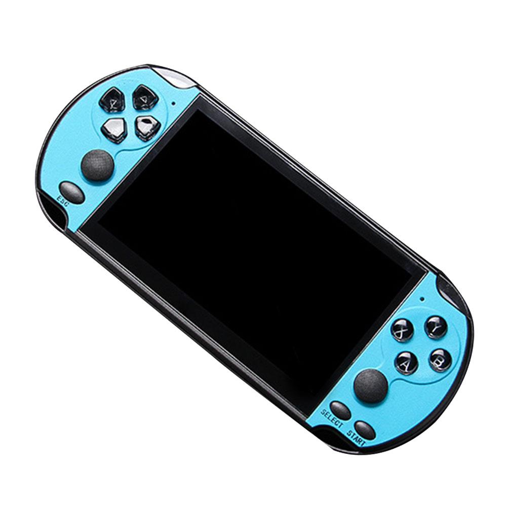 "8Bit-128 Bit 5"" X7 Plus Double Rocker Handheld Game Console Built-in 10000 Games 10"