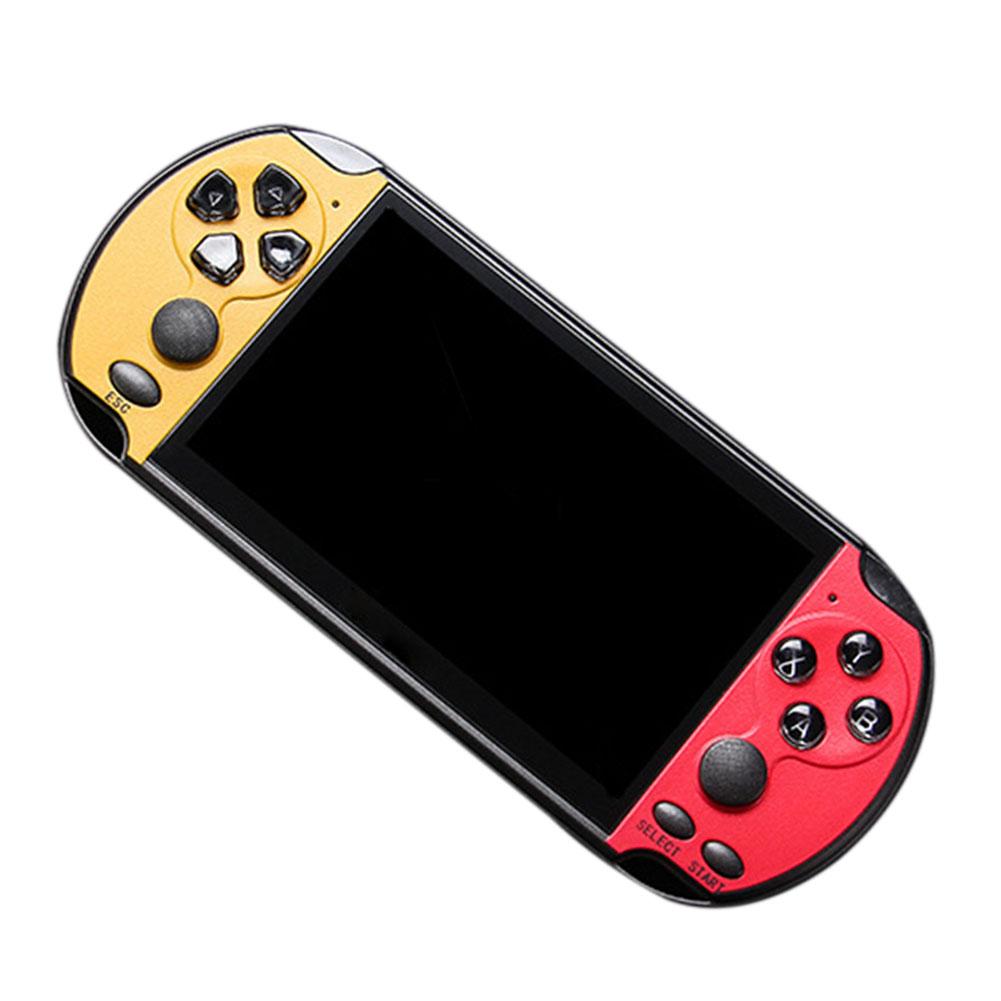 "8Bit-128 Bit 5"" X7 Plus Double Rocker Handheld Game Console Built-in 10000 Games 11"