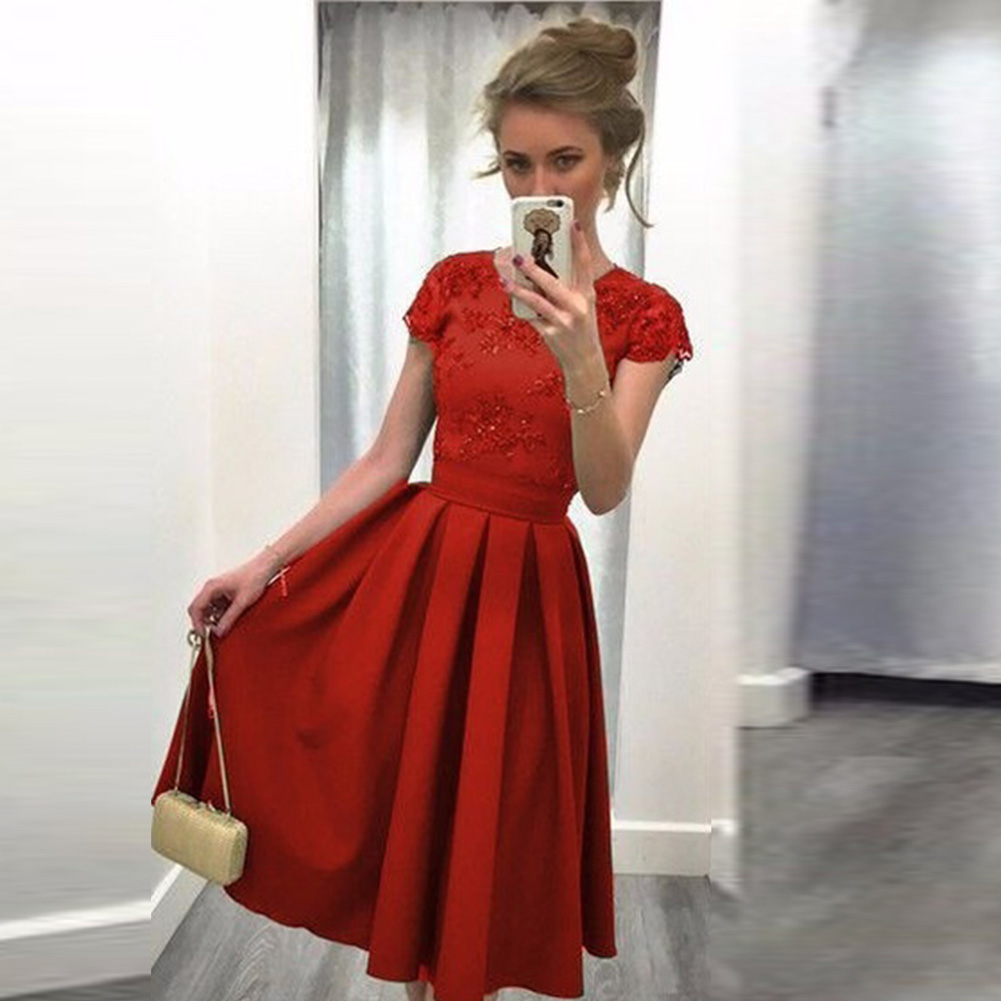 Womens-Retro-Evening-Party-Dress-Ladies-Formal-Wedding-Cocktail-Lace-Dress