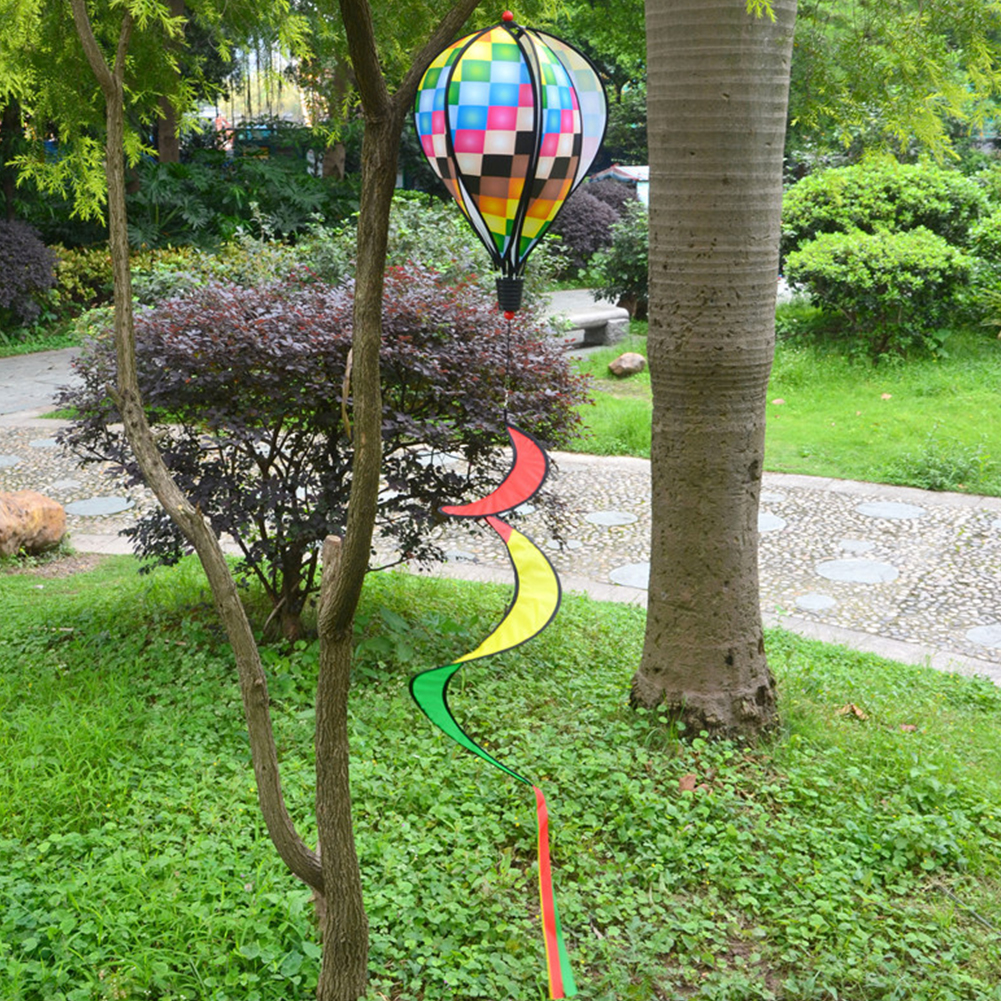 1PC-Windsock-For-Children-Random-Color-Hot-Air-Balloon-Rainbow-Toy-Wind-Spinner thumbnail 2