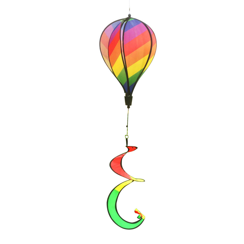 1PC-Windsock-For-Children-Random-Color-Hot-Air-Balloon-Rainbow-Toy-Wind-Spinner thumbnail 12
