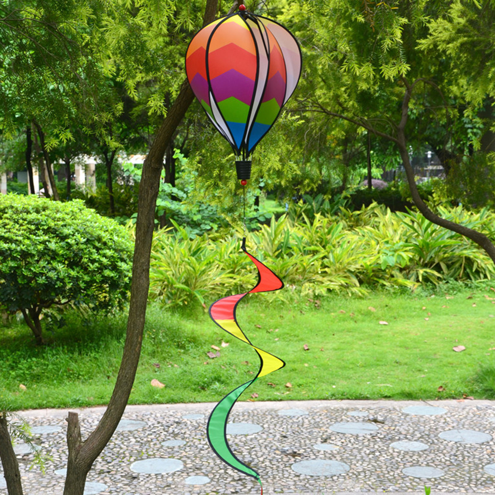 1PC-Windsock-For-Children-Random-Color-Hot-Air-Balloon-Rainbow-Toy-Wind-Spinner thumbnail 7