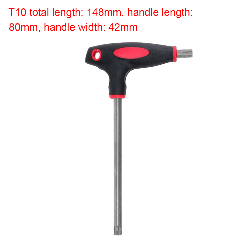 T-Handle-Grip-Torx-amp-Hex-Allen-Key-Torque-Wrench-Screwdriver-Driver-Tool-T10-T40
