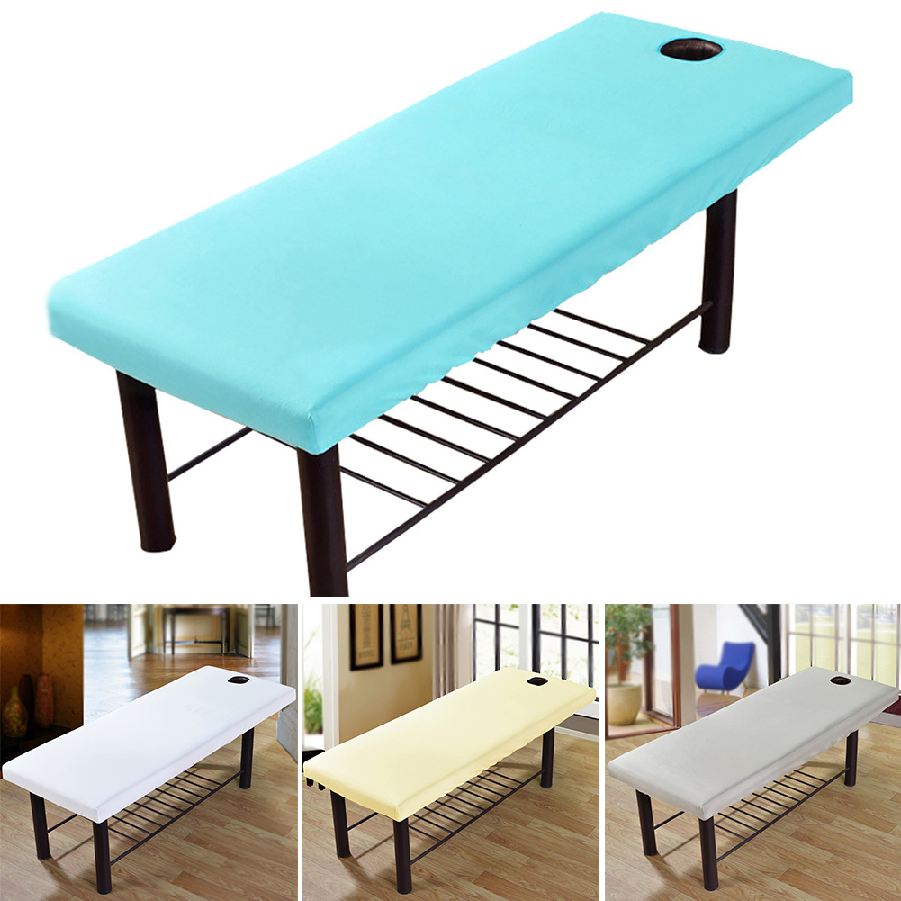 Massage Elastic Spa Bed Fashion Couch Sheet Bedding Table Co