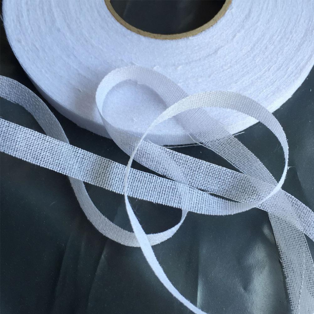 Indexbild 13 - 50M Iron On Webbing Tape Hemming Craft  Lining No Elasticity Lace Trim