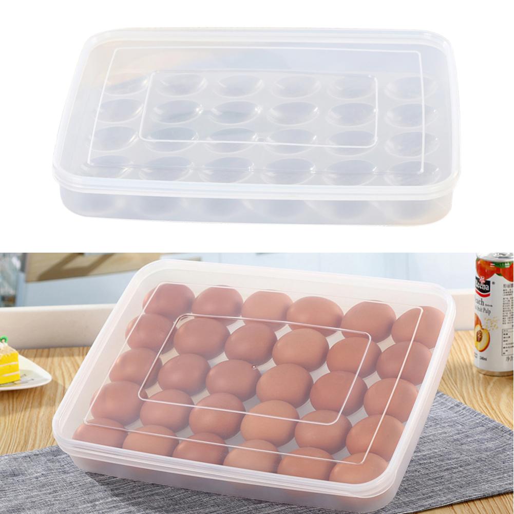 Henapple With Lid Holder Fridge Freeze Single Layer Storage