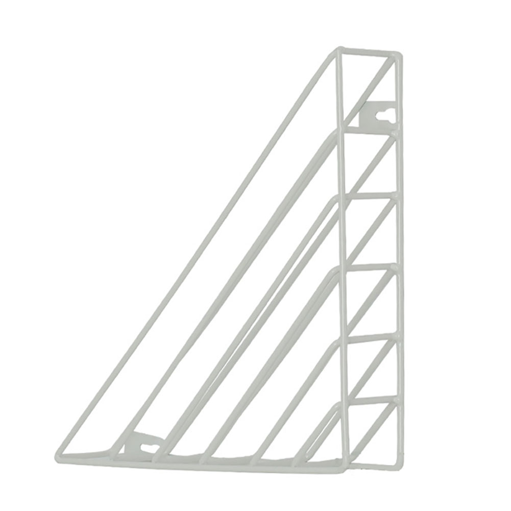 thumbnail 12 - Book Shelf Home Iron Structure Wall Mounted Storage Decorative Triangle Simple
