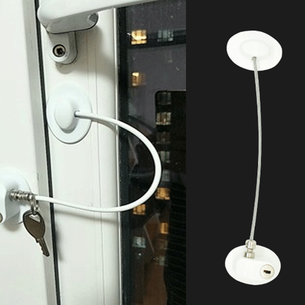 Child Safety Window Cabinet Door Home Punch Free Baby Refrigerator Lock - $9.39