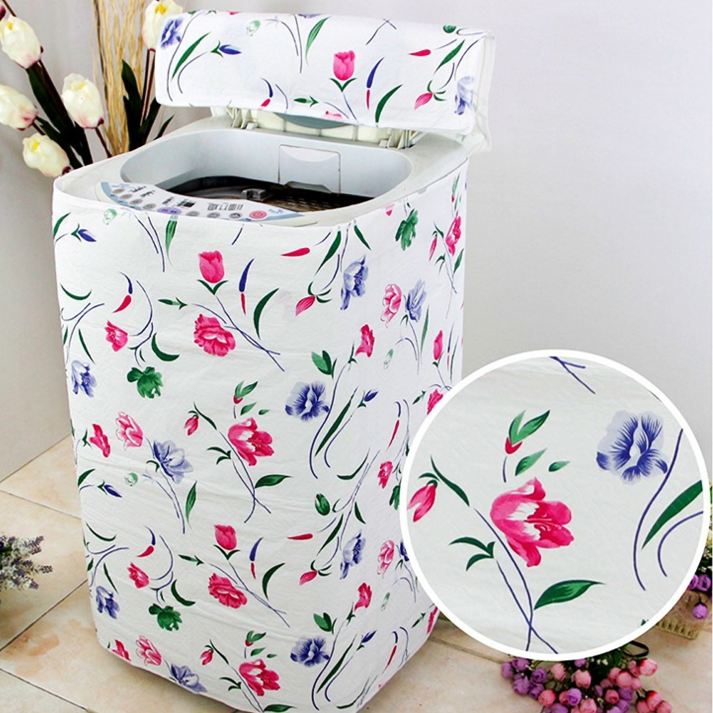 Portable Room Dust Cover Washing Machine Cover Waterproof Th