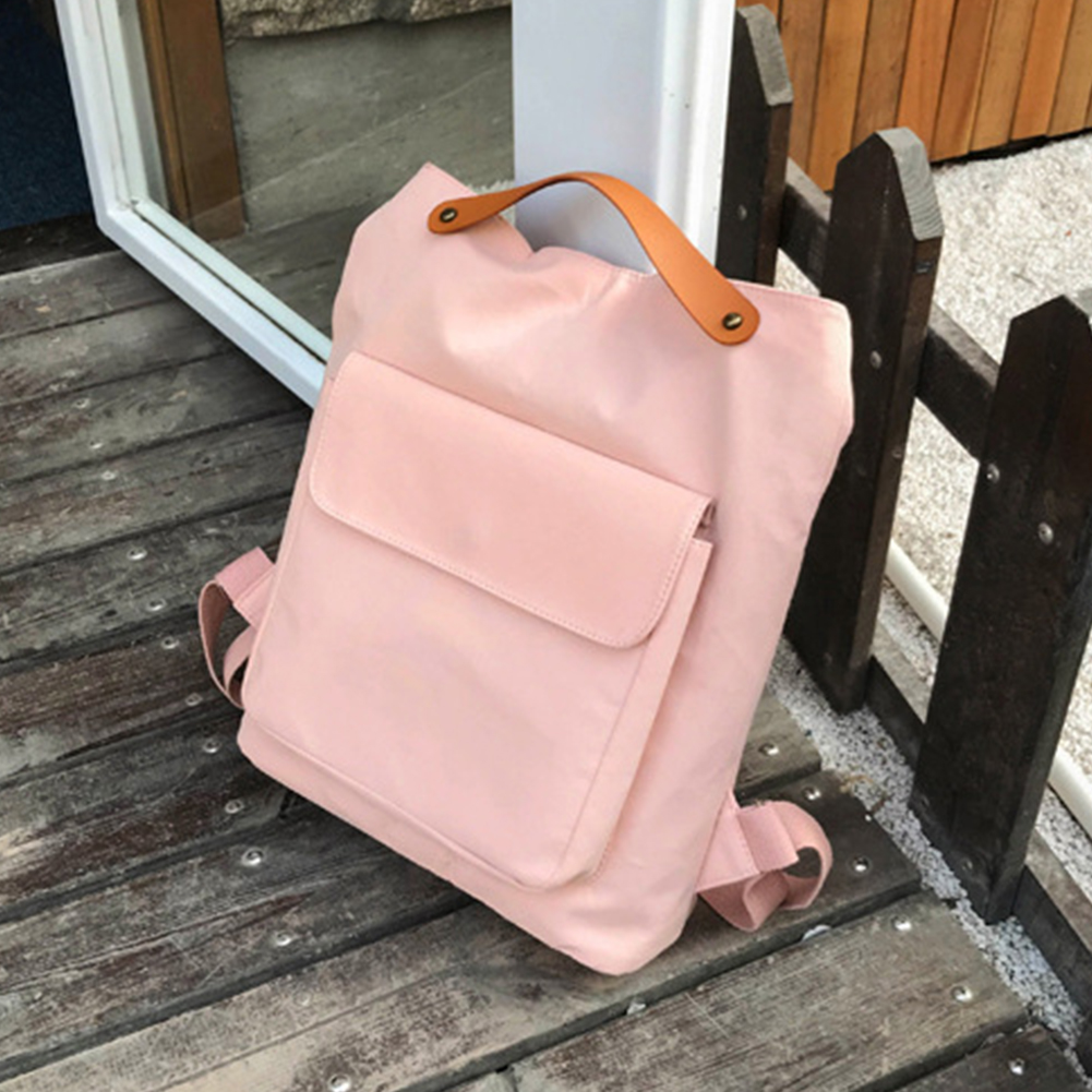Women-Canvas-Casual-Wear-resistant-All-match-Rucksack-Backpack-Travel-Multi-use