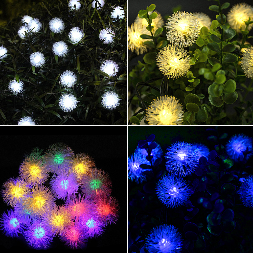 Party Outdoor UV Waterproof Solar Power Atmosphere Christmas