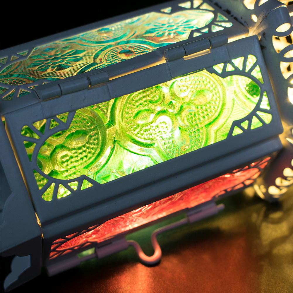 Moroccan-Hanging-Glass-Lantern-Tea-Light-Candle-Holders-Style-Home-Decor-Wedding thumbnail 8