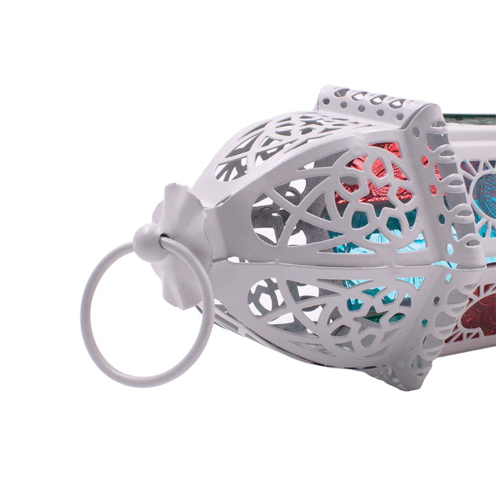 Moroccan-Hanging-Glass-Lantern-Tea-Light-Candle-Holders-Style-Home-Decor-Wedding thumbnail 10