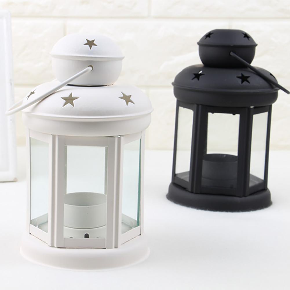 Vintage-Hanging-Glass-Lantern-TeaLight-Candle-Holders-Style-Home-Decor-Wedding thumbnail 6