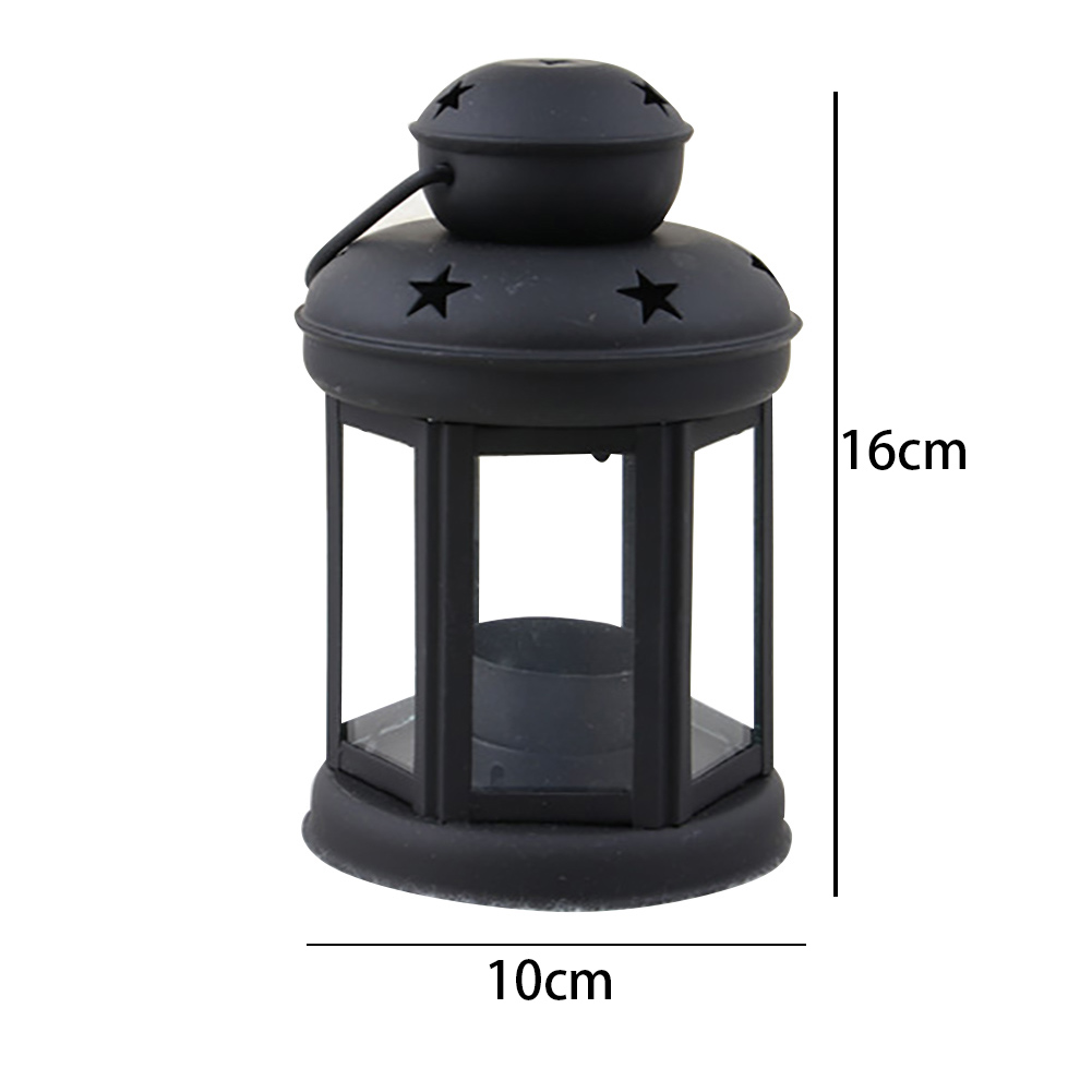 Vintage-Hanging-Glass-Lantern-TeaLight-Candle-Holders-Style-Home-Decor-Wedding thumbnail 10