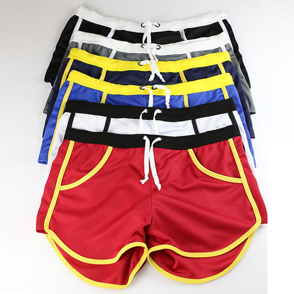 New-Mens-Sport-Shorts-Running-Casual-Pants-Gym-Racing-Short-Athletic-Drawstring thumbnail 11