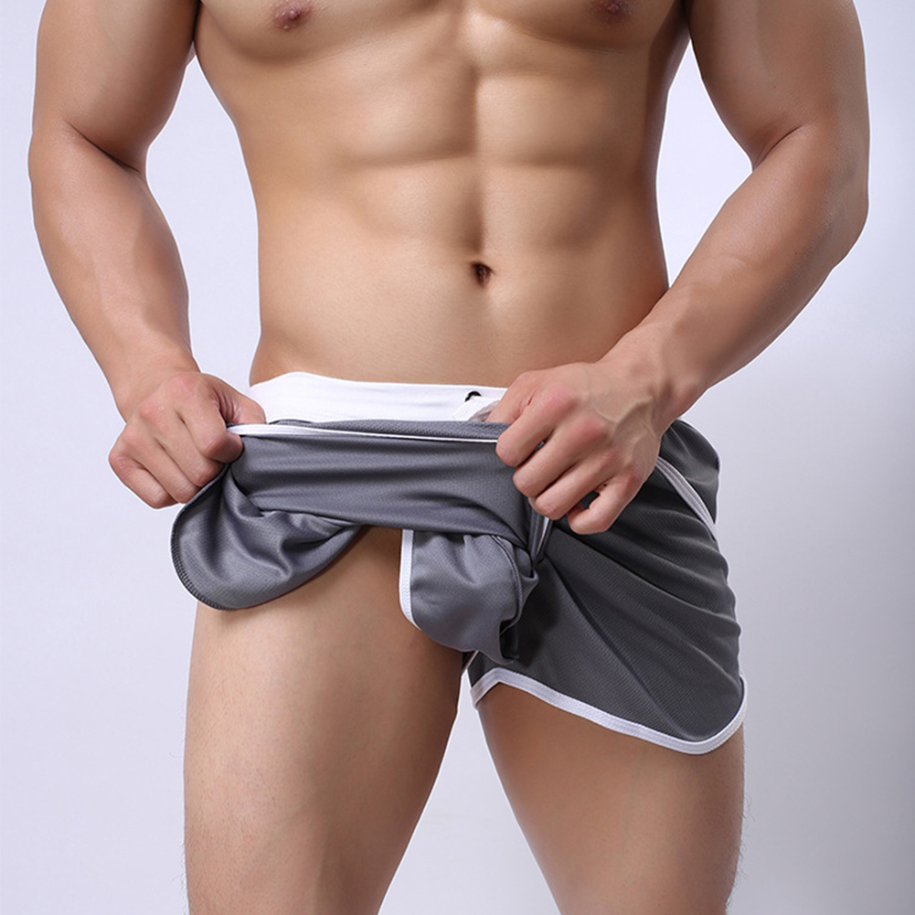 New-Mens-Sport-Shorts-Running-Casual-Pants-Gym-Racing-Short-Athletic-Drawstring thumbnail 6