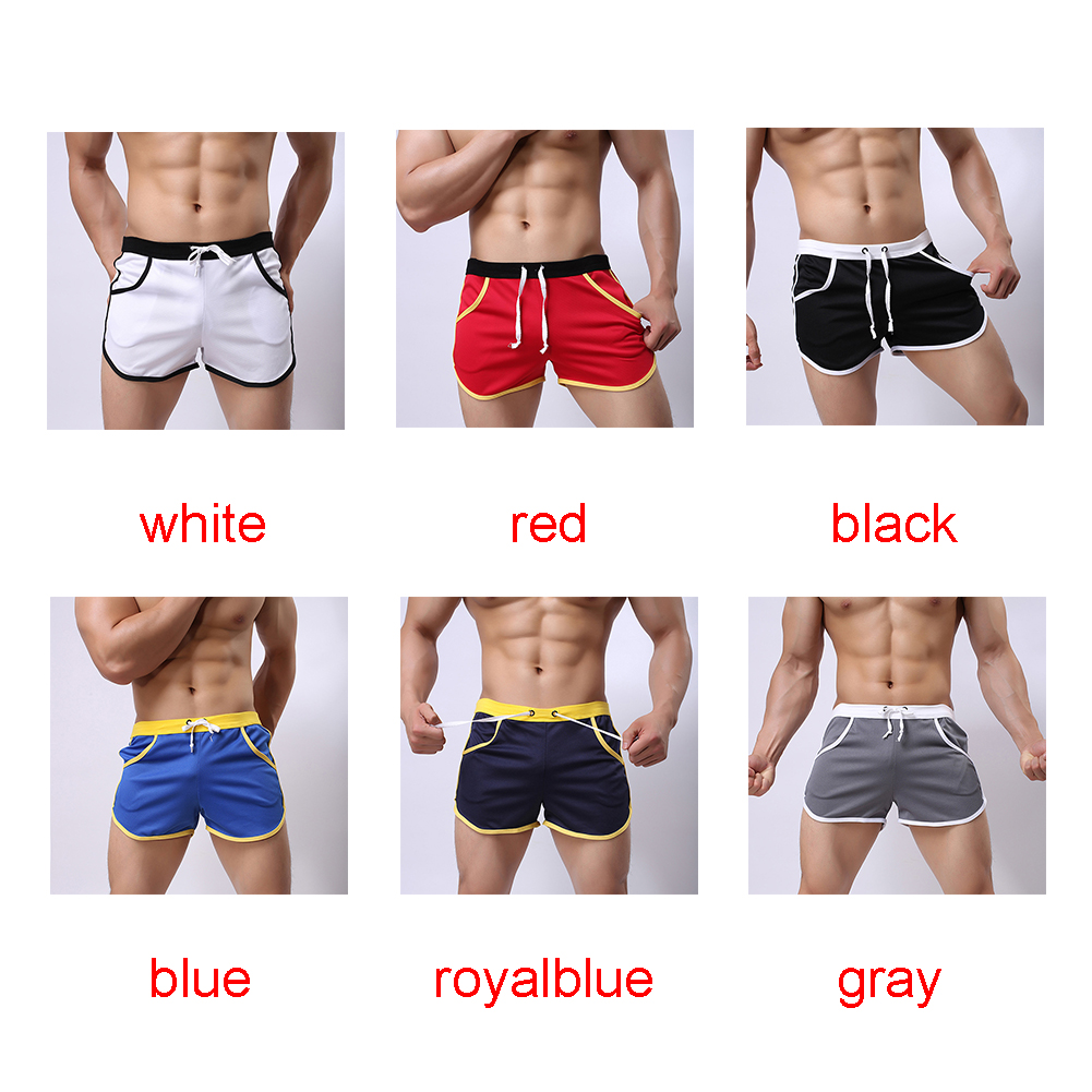 New-Mens-Sport-Shorts-Running-Casual-Pants-Gym-Racing-Short-Athletic-Drawstring thumbnail 8