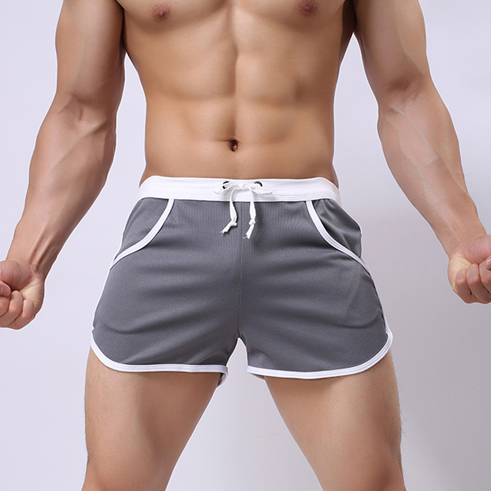 New-Mens-Sport-Shorts-Running-Casual-Pants-Gym-Racing-Short-Athletic-Drawstring thumbnail 3