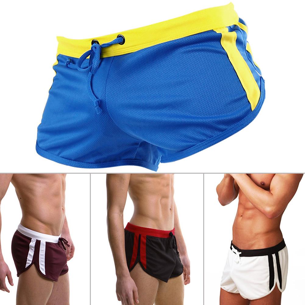 2019-Male-Mesh-Sports-Shorts-Relaxed-Men-Trunks-Beach-Surf-Shorts-M-L-XL thumbnail 9