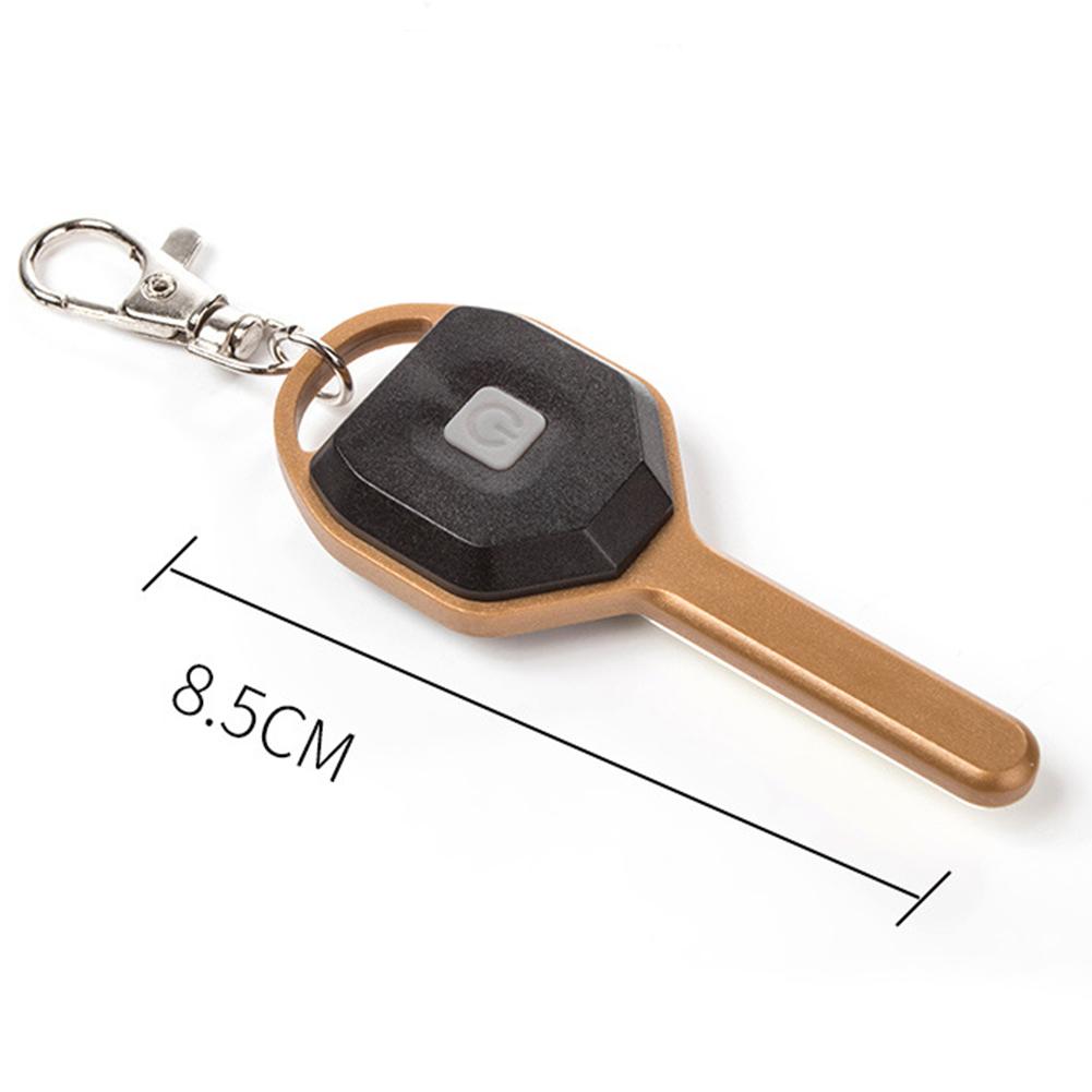 Mini-Torch-UV-Outdoor-Flashlight-Multifunction-Hiking-Keychain-Climbing-2-Modes thumbnail 4