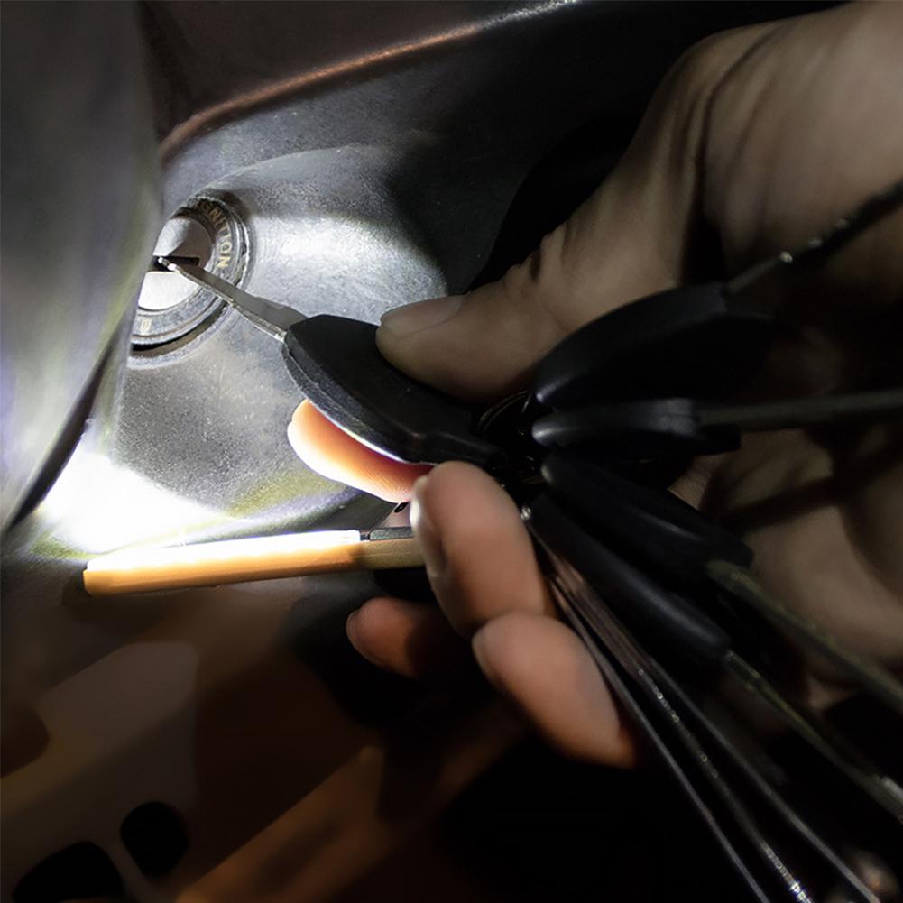 Mini-Torch-UV-Outdoor-Flashlight-Multifunction-Hiking-Keychain-Climbing-2-Modes thumbnail 7