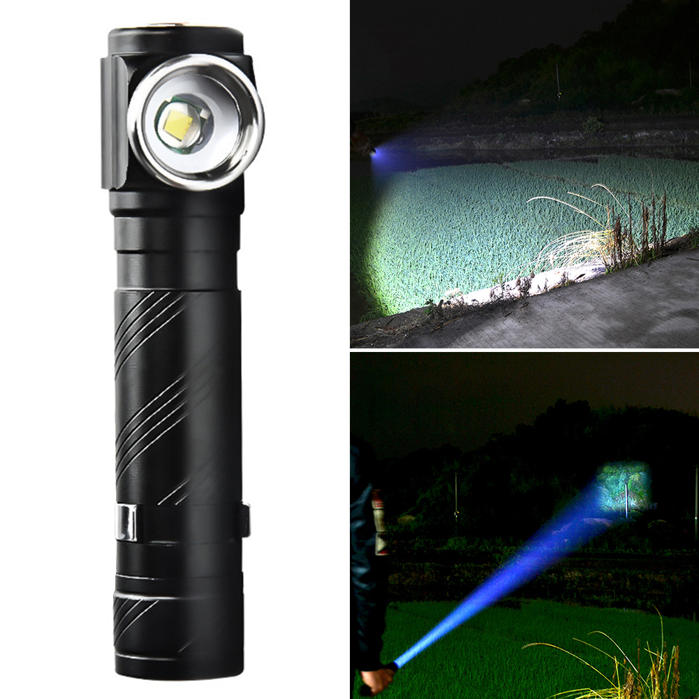 USB-Charging-Rechargeable-Led-Waterproof-Durable-Hard-Light-Wide-range thumbnail 4