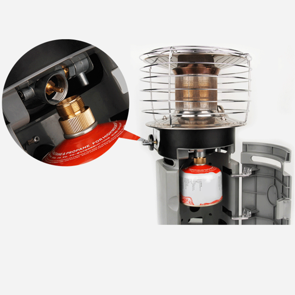 Converter-Connector-Camping-Stove-Outdoor-Portable-Split-Type-Gas-Tank-Adapter thumbnail 7