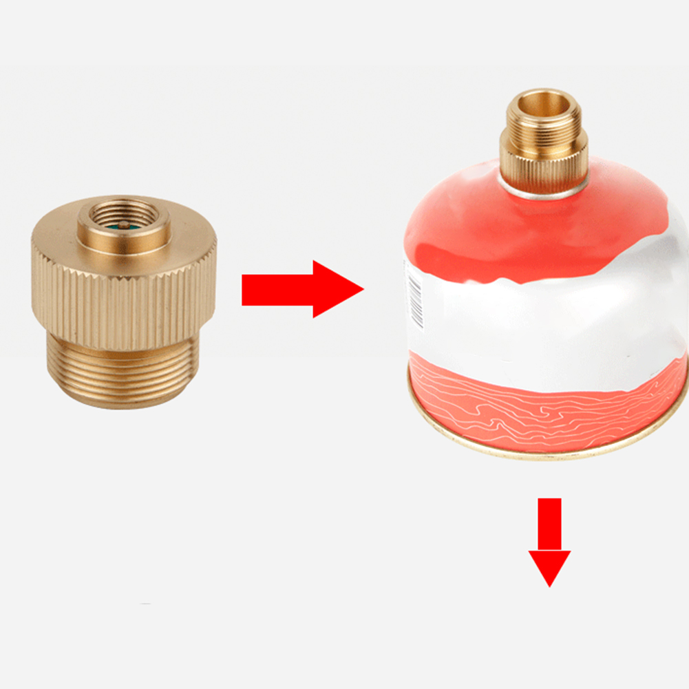 Converter-Connector-Camping-Stove-Outdoor-Portable-Split-Type-Gas-Tank-Adapter thumbnail 3