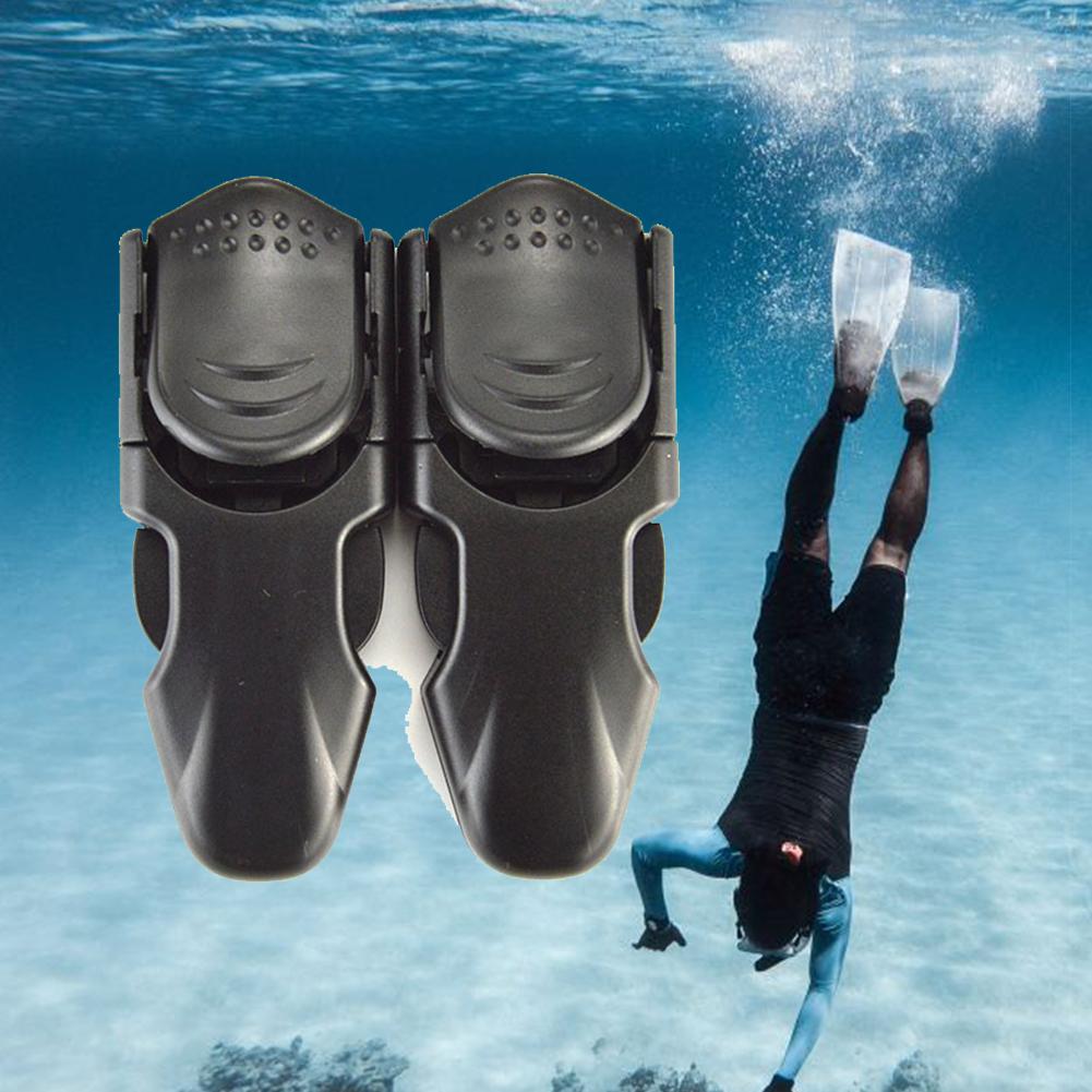 Swimming-Quick-Release-Adjustable-Swim-Fin-Buckles-Lightweight-Diving-Flipper thumbnail 5
