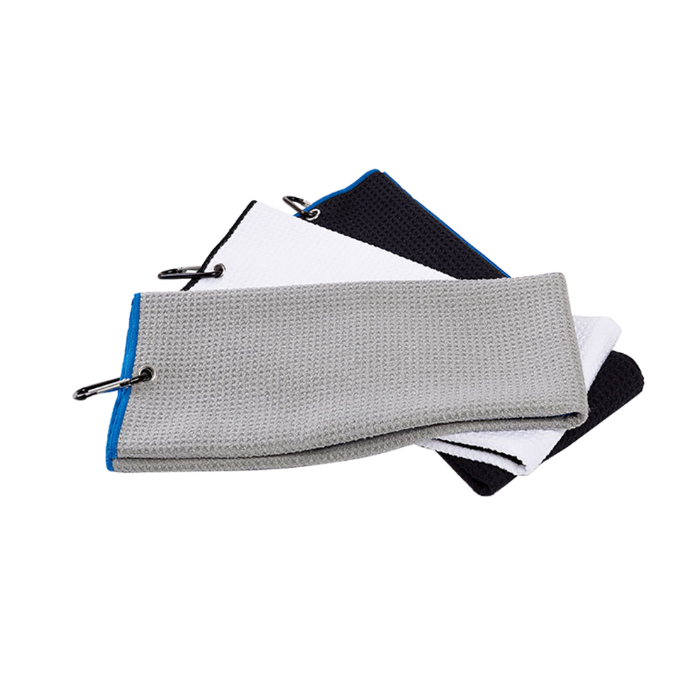 Golf-Sports-Hiking-Towel-Soft-Microfiber-Quick-drying-Sweat-Towel-With-Hook thumbnail 7