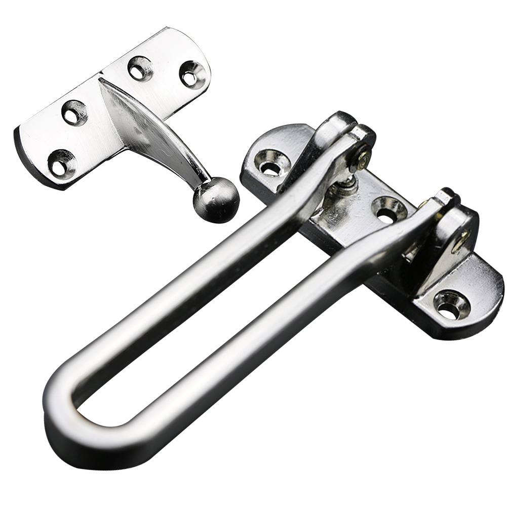 DOOR RESTRICTOR STRONG HEAVY DUTY SECURITY SAFETY GUARD LOCK