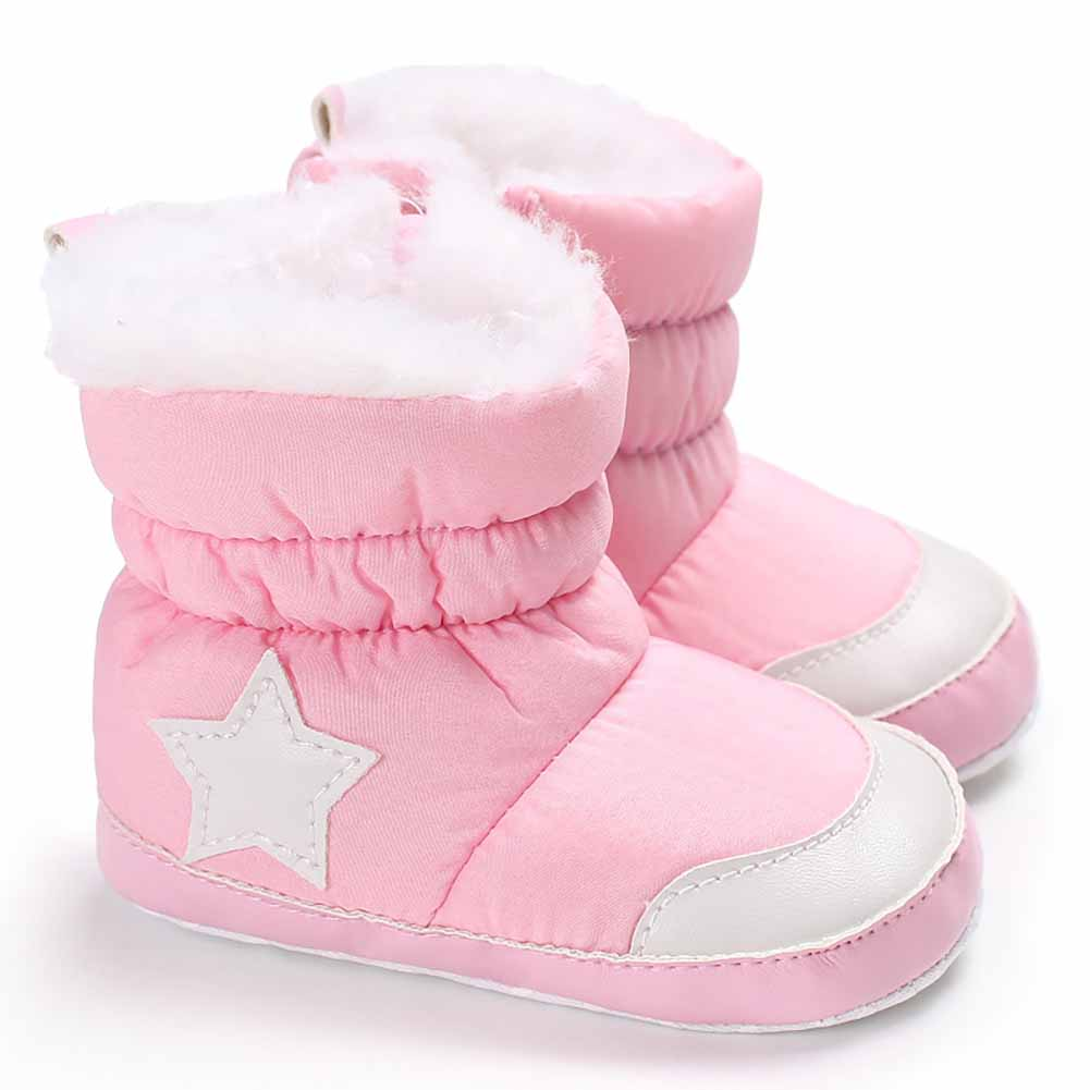 Baby-Boys-Girls-Newborn-Winter-Warm-Boots-Toddler-Infant-Soft-Sole-Shoes-0-18M