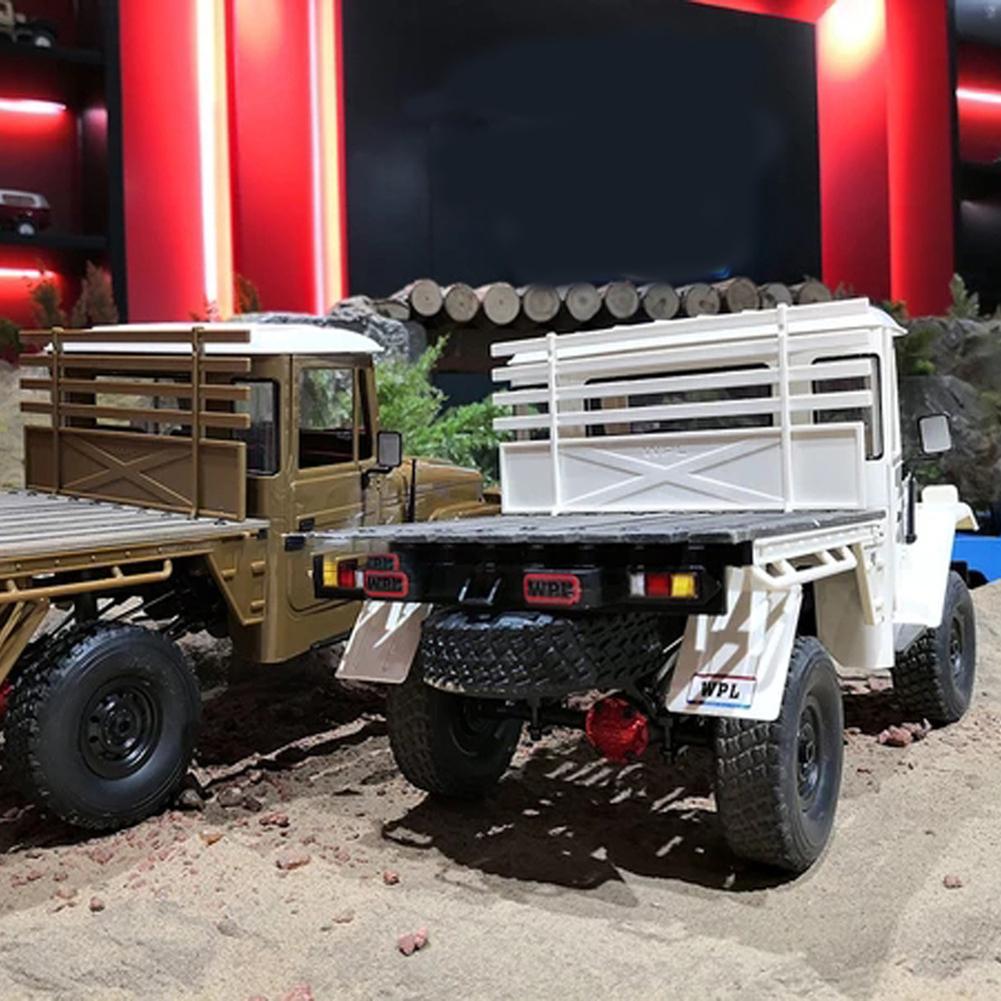 WPL C44KM 1 16 4WD Modelo RC Coche Regalo Off-Road Vehículo Hazlo tú mismo montar Collection