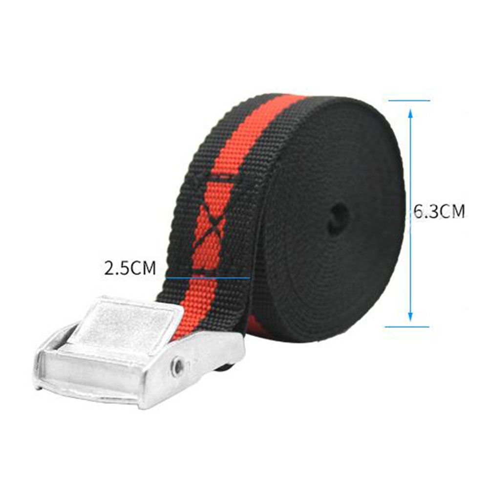 2.5m Luggage Buckle Ratchet Elastic Rope Heavy Duty Accessor