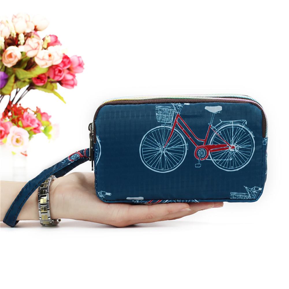 Women-Girl-Floral-Wristlet-Bag-Coin-Purse-Zipper-Wallet-Cell-Phone-Pouch-Fashion