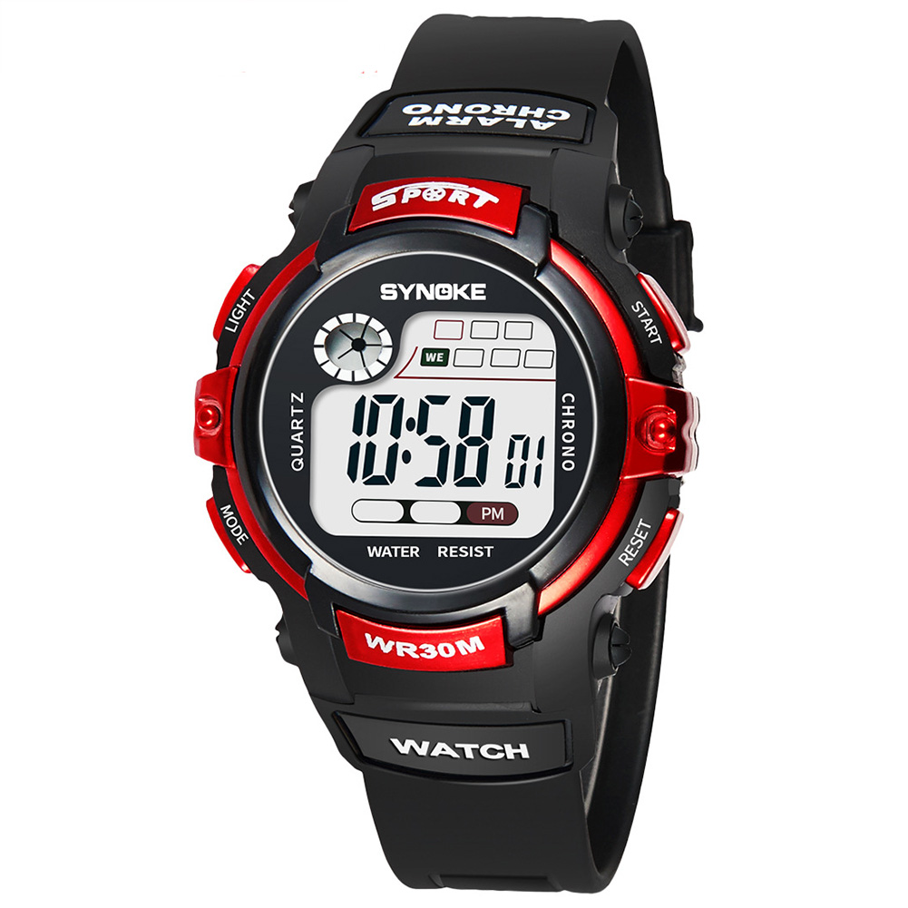 Multifunction-Electronic-Sport-Digital-Waterproof-Wrist-Watch-For-Kids-Girls-Boy